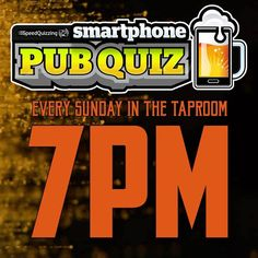 It's back! Smart phone pub quiz in the Taproom starts at 7pm, sharp. Pop down for the quiz and a quality brew 🍻🤯 #speedquiz #quizyork #brewyork #brewyorkbeer #withinthewalls #quiz #sundayquiz