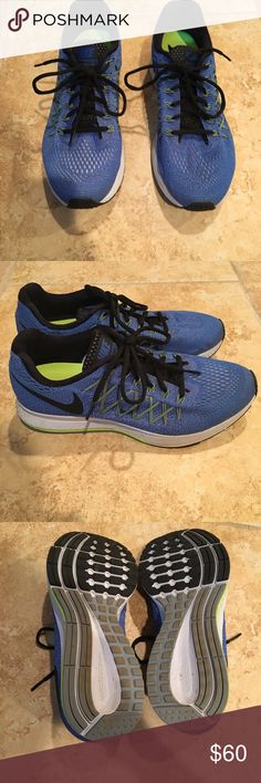 Nike Running Shoes Only worn once!! Like new! Very light material Nike Shoes Sneakers