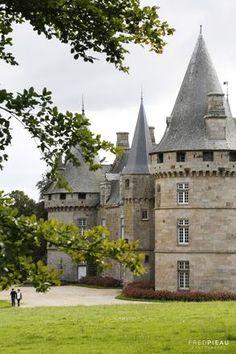 Château de Bonnefontaine. Antrain. Bretagne. France.