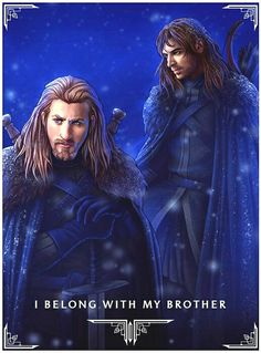 Fili and Kili: the people who almost saved the Hobbit Trilogy(which shouldn't even have been a Trilogy. It's one book!!!)