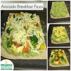 Metabolic Research Center | Avocado Breakfast Pizza