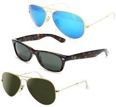 fb4d0992e38 Ray-Ban Sunglasses Wayfarers and Aviators (Multiple Options)  79.99  (ebay.com