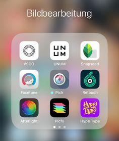 Fotobearbeitung für Instagram - Apps