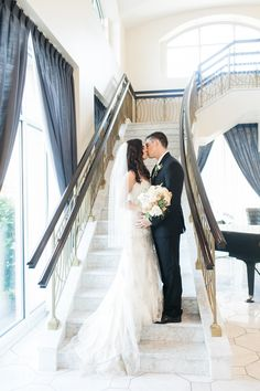 Hotel Blackhawk wedding reception. This staircase is perfect for pictures.