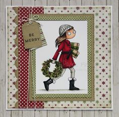 Hello lovely people, From midday today you can get your hands on the Thoroughly Modern Misses from LOTV ! Girly Images, Tiny Tags, Hobby House, Digi Stamps, All Things Christmas, Birthday Cards, Card Ideas, Christmas Cards, December