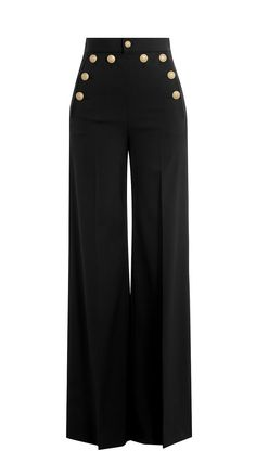 Wide-leg sailor trousers   Red Valentino