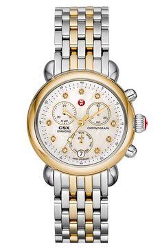 MICHELE CSX-36 Two Tone Customizable Watch