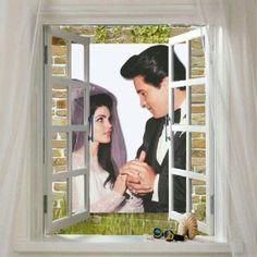 Mr. & Mrs. Elvis Presley <3