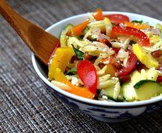 Vegetarian Orzo Reci