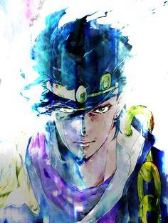 Jotaro Kujo and Star Platinum Fanarts Anime, Anime Characters, Manga Anime, Anime Art, Fictional Characters, Bizarre Art, Jojo Bizarre, Jojo's Bizarre Adventure, Video Game Anime