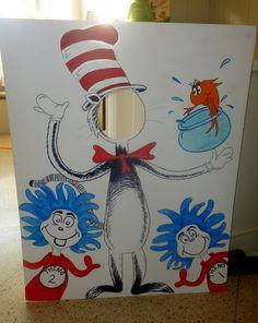 Dr Seuss cutout
