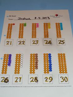 Image result for diy printable directions for montessori 100 golden bead square and 1000 cube