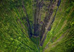 Hi'ilawe Falls, Big Island, Hawaii