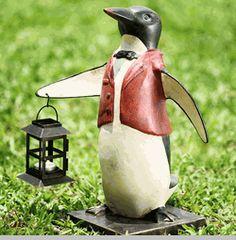 Penguin Waiter Lantern (not available on the website)