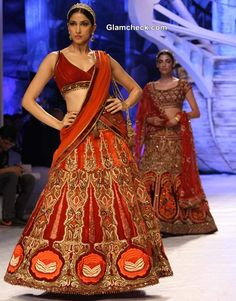 India Bridal Fashion week 2013 JJ Valaya show