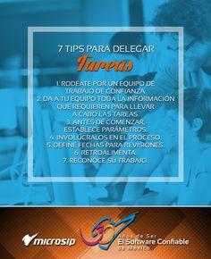 #TipsMicrosip 7 tips para delegar tareas