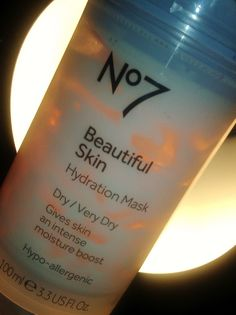 Make-Up Anonymous: No7 Beautiful Skin Hydration Mask