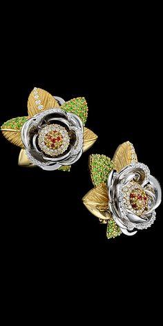 Master Exclusive Jewellery - Коллекция - Diamond flowers #fk #fashionkiosk #beauty #jewelry #design #earrings #ювелирные #украшения #серьги