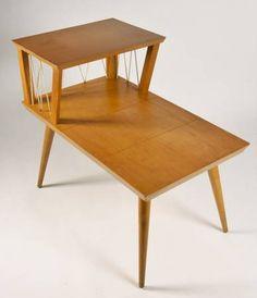 Mid Century Modern Eames Era Atomic Era Side Table by Goodpix11