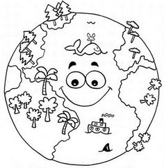Top 20 Free Printable Earth Day Coloring Pages Online – Art World 20 Earth Day Coloring Pages, Space Coloring Pages, Coloring Pages To Print, Coloring Books, Earth Day Projects, Earth Day Crafts, Teaching Packs, Earth Day Activities, Classroom Projects