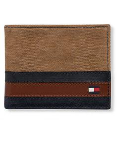 Tommy Hilfiger Exeter Bifold Wallet Khaki
