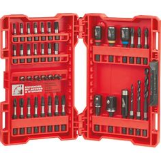 Milwaukee 48-32-4006, Shockwave 40PC Impact Drill & Drive Set https://cf-t.com/shockwave-40pc-impact-drill-drive-set