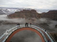 on my bucket list, to walk out on the skywalk at the Grand Canyon