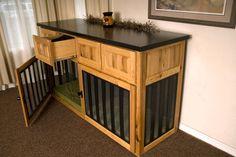 Dog Kennel Bedside Table