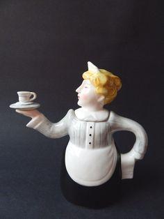 Abbott Collection Lady Waitress Teapot   | eBay