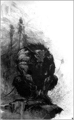 Werebeast of Chaos. Warhammer, Chaos Army 6th Edition