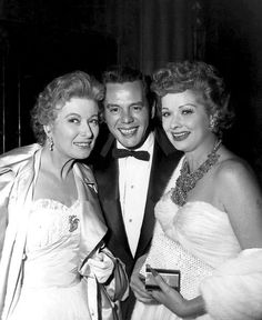 Greer Garson, Desi, and Lucy