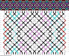 28 strings, 18 rows, 5 colors