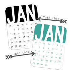 Free monthly calender journal cards - and a tutorial for recoloring black and white graphics in photoshop Photoshop Program, Photoshop Tips, Project Life Freebies, Project 365, Project Life Organization, Digital Project Life, Planning And Organizing, Art Journal Techniques, Photoshop Design