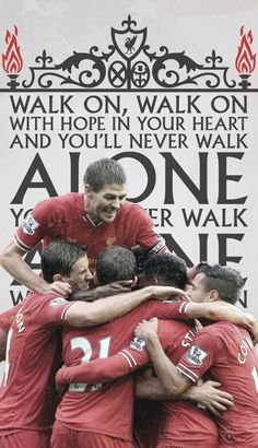 You'll Never Walk Alone - Liverpool Best Football Team, Football Soccer, Football Players, Soccer Ball, Liverpool Fans, Liverpool Football Club, Ynwa Liverpool, Liverpool Fc Wallpaper, Liverpool Wallpapers