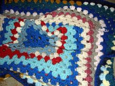 Vintage Dolls, Vintage Items, Small Blankets, Afghan Blanket, Color Blue, Crochet, Red, Pink, Products