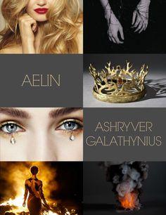 Aelin Ashryver Galathynius - Throne of Glass Series