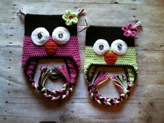 Toddler/Child OWL EARFLAP hatCustomize your by ReneesCrochetShop, $36.00