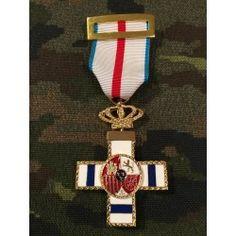 f6510c13b0f Medalla Mérito Militar Distintivo Azul Cuerpo Nacional De Policia