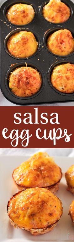 Scrambled Egg Muffins Breakfast | Make Ahead Breakfast Idea | Scrambled Egg Muffin Cups | Egg Cups Breakfast | Egg Cups Easy | Breakfast Meal Prep via @frugalitygal