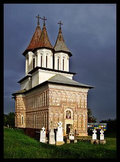 Tutana church Romania Romania Travel, Church Architecture, Christian Church, Iglesias, Old Buildings, Niqab, Notre Dame, Chile, Countries