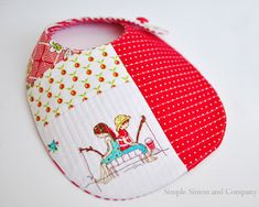 Cheery Cherry Baby Bib This image courtesy of inspirationdiy.com Project Type: Make a Project Time to complete: In an evening Primary Technique: Pieced