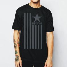 Camiseta exclusiva e estilosa MUTESTARS.