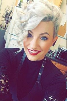 51 Beautiful Short Curly Hairstyles: Tips For Healthy Short Curls - Latest Hairstyles bob hairstyles Curly Hair Styles, Cute Hairstyles For Short Hair, Hair Styles 2016, Short Curly Hair, Short Hair Cuts, Bob Hairstyles, Medium Hair Styles, Curly Pixie, Quince Hairstyles