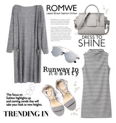 """ROMWE: Long Cardigan: 21/09/16"" by pinky-chocolatte ❤ liked on Polyvore"