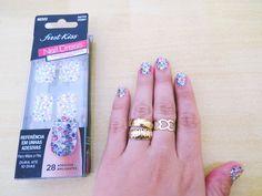 nail art em 5 min first kiss nail dress adeviso unhas (1)