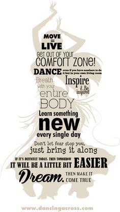 My Belly dance 10 commandments - Dancing across borders