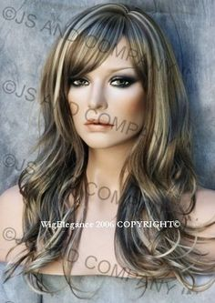 17101 sugar and spice light ash brownplatinum ash blonde back in stock long wavy layered feminine wig ash blonde golden mix with bangs pmusecretfo Image collections