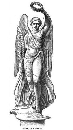 Nike, Winged goddess of Victory (Victoria)