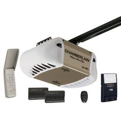 218 chamberlain 34hp whisper drive plus battery backup belt garage door opener