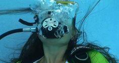 Scuba Diving, Underwater, Women, Girls, Bubbles, Diving, Women's, Daughters, Under The Water